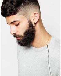 ASOS | Black Skull Earring Hoop Pack | Lyst