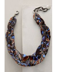Pono - Blue Terra Firma Link Necklace - Lyst