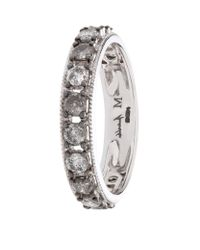 Annoushka | Metallic Dusty Diamond Eternity Ring | Lyst