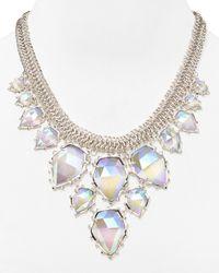 "Kendra Scott | Metallic Gretchen Necklace, 19"" | Lyst"