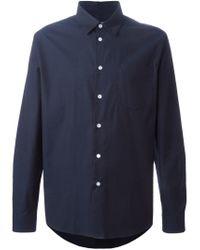 Soulland - Blue 'huttnutt' Shirt for Men - Lyst