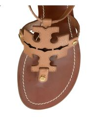 Tory Burch - Brown Chandler Wedge Sandal - Lyst