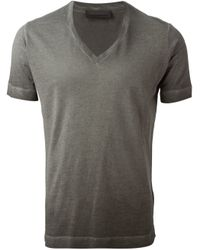 Diesel Black Gold | Gray 'Tarrichy' T-Shirt for Men | Lyst