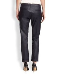 3x1 - Blue Coated Ankle Trouser Jeans - Lyst