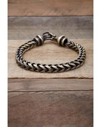 Forever 21 - Metallic Men Vitaly Kusari Bracelet for Men - Lyst