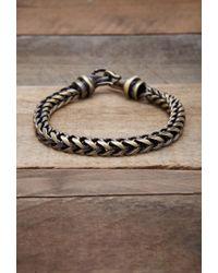 Forever 21 | Metallic Men Vitaly Kusari Bracelet for Men | Lyst