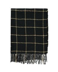 Forever 21 | Black Fringed Grid-patterned Scarf You've Been Added To The Waitlist | Lyst