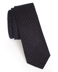 W.r.k. | Blue Dot Cotton Tie for Men | Lyst