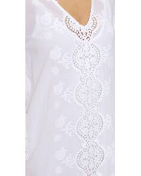 Nightcap - Embroidered Caftan - White - Lyst