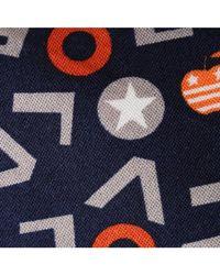 Skinny Tie Madness | Black Love Love Love Navy Novelty Print Skinny Tie for Men | Lyst
