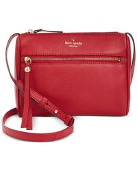 kate spade new york | Red Cobble Hill Cayli Crossbody | Lyst