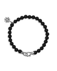 David Yurman | Black Spiritual Beads Bracelet | Lyst