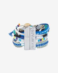 Hipanema - Fluo Bracelet Blue - Lyst