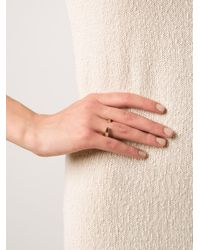 Kelly Wearstler | Metallic 'anza' Ring | Lyst