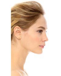 Amber Sceats   Metallic Ella Earrings - Gold   Lyst