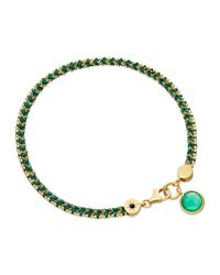 Astley Clarke | Let's Dance Bracelet With Green Quartz | Lyst