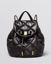 Ferragamo - Black Backpack - Giuliette - Lyst