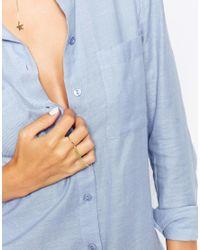 Gorjana | Metallic Shimmer Tassel Ring | Lyst