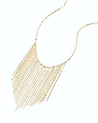 Lana Jewelry - Metallic 14k Long Fringe Necklace - Lyst
