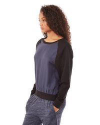 Alternative Apparel | Blue Caravan Cupro Crew Sweatshirt | Lyst