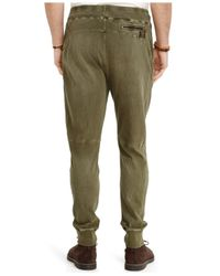 Polo Ralph Lauren - Green Jersey Utility Pant for Men - Lyst