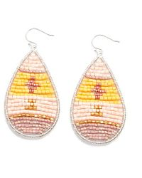 Nakamol | Multicolor Tatonga Earrings-light Pink Mix | Lyst