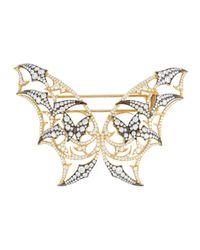Stephen Webster - Metallic Fly By Night Diamond Batmoth Brooch - Lyst