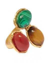 Sylvia Toledano | Multicolor 3 Stone Ring | Lyst