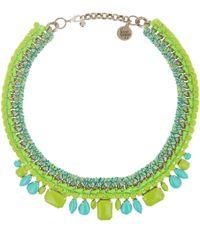 Venessa Arizaga | Green Sea Breeze Necklace | Lyst