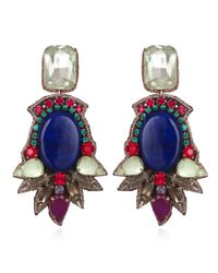 Suzanna Dai | Black Maharaja Earrings | Lyst