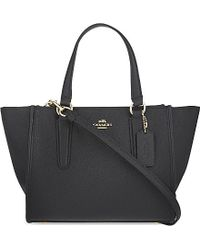 COACH | Black Mini Crosby Carryall | Lyst