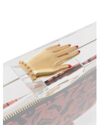 Charlotte Olympia - Pink Pandora Hands On Clutch - Lyst