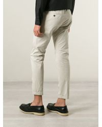 DSquared² | Gray Chino Trousers for Men | Lyst