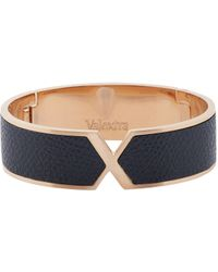 Valextra | Black Hinged Vs Bangle | Lyst