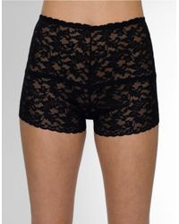 Hanky Panky | Black Retro Hot Pants | Lyst