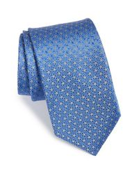 Michael Kors | Blue Floral Dot Silk Tie for Men | Lyst