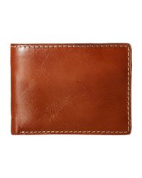 Patricia Nash | Brown Double Billfold Id | Lyst