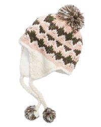 Barbour Multicolor 'girvan' Knit Trapper Hat