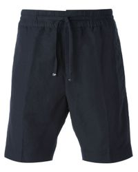 Emporio Armani - Blue Bermuda Shorts for Men - Lyst