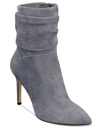 Guess - Gray Women's Vvidlet Dress Booties - Lyst