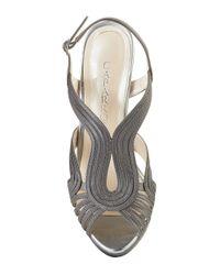 Caparros | Gray Edna Slingback Sandals | Lyst