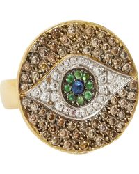Ileana Makri | Green 'dawn' Ring | Lyst