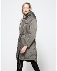 Cheap Monday | Gray Search Parka | Lyst