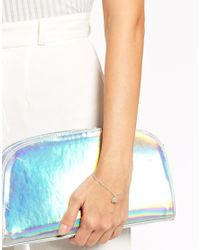 Dogeared | Metallic Sterling Silver Good Luck Elephant Adjustable Bracelet | Lyst