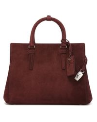 Agnona - Brown 'north South' Tote - Lyst