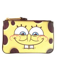 Moschino - Yellow Spongebob Coin Purse - Lyst