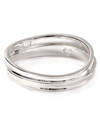 Robert Lee Morris | Metallic Sculptural Bangles Set Of 2 | Lyst