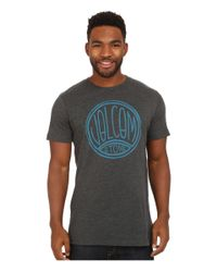 Volcom - Black Fun Kin Short Sleeve Tee for Men - Lyst