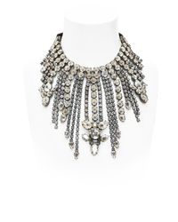 Emanuele Bicocchi | Metallic Crystal Necklace | Lyst
