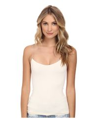 Free People | White Cross Strap Cami | Lyst